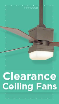 Clearance: Ceiling Fans