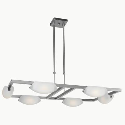 Access Lighting 63962 Nido - Six Light Adjustable Chandelier