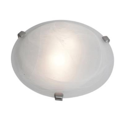 Access Lighting 23019-BS/WH Mona - Two Light Flush Mount