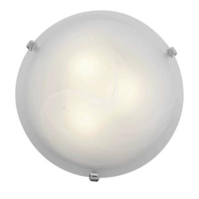 Access Lighting 23020-CH/WH Mona - Three Light Flush Mount