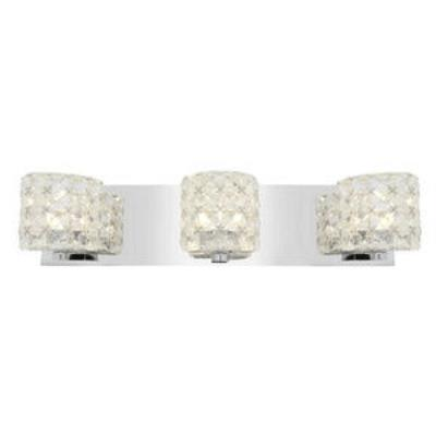 Access Lighting 23921-CH/CCL Prizm- Three Light Bath Bar