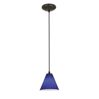 Access Lighting 28004-1C-ORB/COB Sydney Oriental - One Light Pendant (Cord Hung)