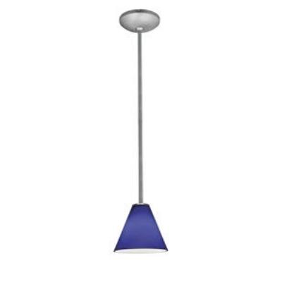 Access Lighting 28004-1R-BS/COB Ami Inari Silk - One Light Pendant with Round Canopy
