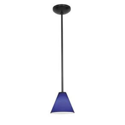 Access Lighting 28004-1R-ORB/COB Ami Inari Silk - One Light Pendant with Round Canopy