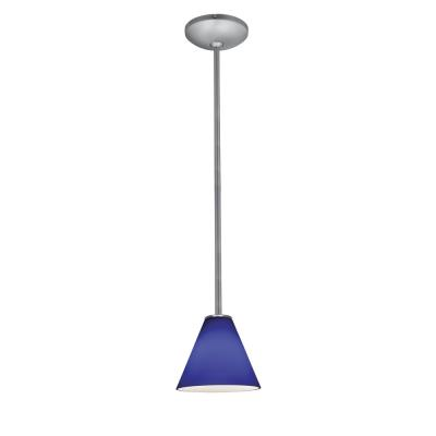 Access Lighting 28004-2R-BS/COB Julia Oriental - One Light Pendant