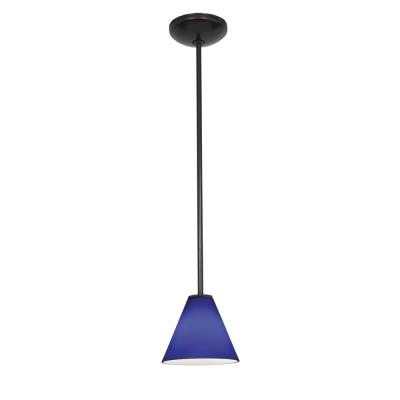 Access Lighting 28004-2R-ORB/COB Julia Oriental - One Light Pendant