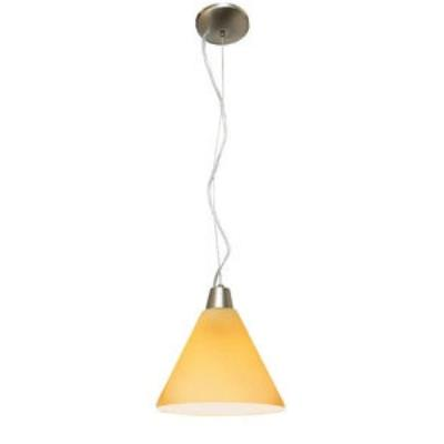 Access Lighting 28004-2R-BS/AMB Julia Oriental - One Light Pendant