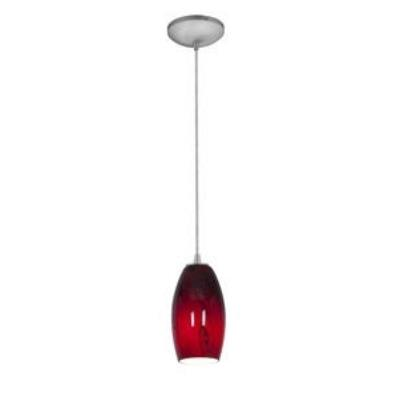 Access Lighting 28811-BS/RUSKY Tali Inari Silk - One Light Pendant