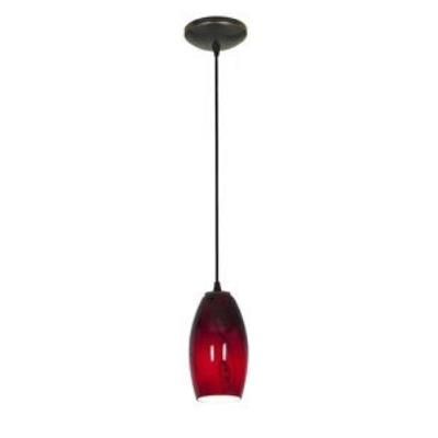 Access Lighting 28811-ORB/RUSKY Tali Inari Silk - One Light Pendant