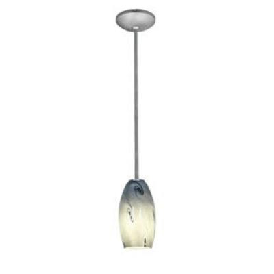 Access Lighting 28011-2R-BS/BLUSKY Sydney Inari Silk - One Light Pendant with Round Canopy