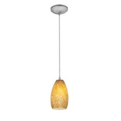 Access Lighting 28812-BS/AMST Tali Inari Silk - One Light Pendant