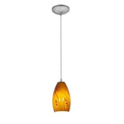 Access Lighting 28812-BS/ASKY Tali Inari Silk - One Light Pendant