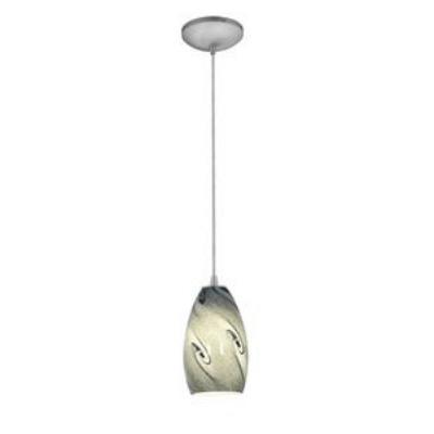 Access Lighting 28812-BS/BLUSKY Tali Inari Silk - One Light Pendant