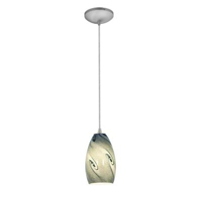 Access Lighting 28812-BS/BLUSKY Tali Inari Silk - One Light Pendant