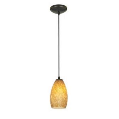 Access Lighting 28812-ORB/AMST Tali Inari Silk - One Light Pendant
