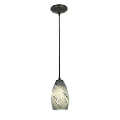 Access Lighting 28812-ORB/BLUSKY Tali Inari Silk - One Light Pendant