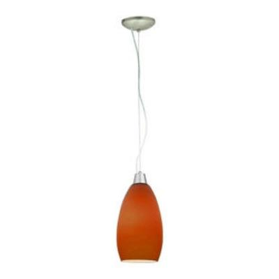 Access Lighting 28012-1C-BS/PLM Sydney - One Light Pendant (Cord Hung)