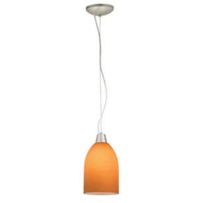 Access Lighting 28018-2R-BS/AMB Julia- - One Light Cone Pendant