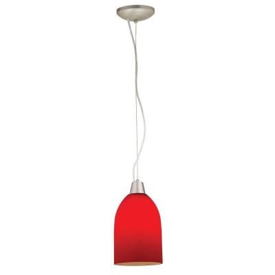 Access Lighting 28018-2C-BS/RED Tali- - One Light Cone Pendant (Cord Hung)