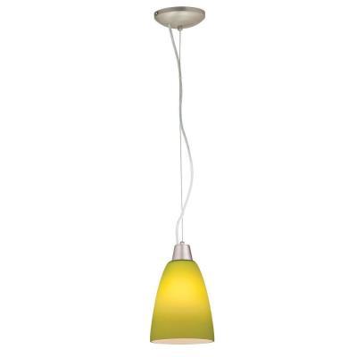 Access Lighting 28022-2R-BS/LGR Julia - One Light Cone Pendant