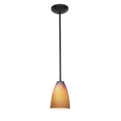 Access Lighting 28823-ORB/REDFB Tali Ostrich Fire Bird - One Light Pendant