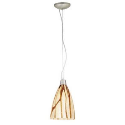 Access Lighting 28025-2C-BS/LAV Tali - One Light Italian Art Pendant (Cord Hung)