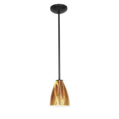 Access Lighting 28025-2C-ORB/AMZ Tali - One Light Italian Art Pendant (Cord Hung)