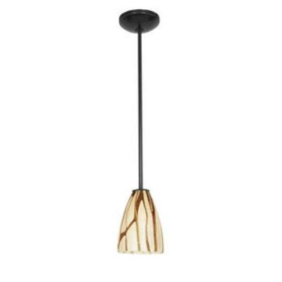 Access Lighting 28025-2R-ORB/LAV Julia - One Light Italian Art Pendant