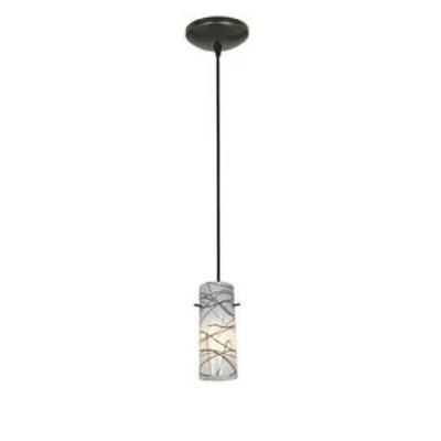 Access Lighting 28830-BS/RUSKY Tali Inari Silk-- One Light Pendant