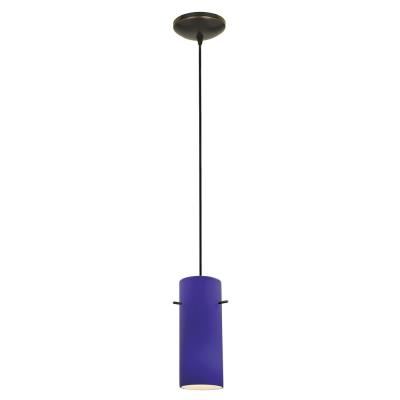 Access Lighting 28030-2C-ORB/COB Tali - One Light Cylinder Pendant (Cord Hung)