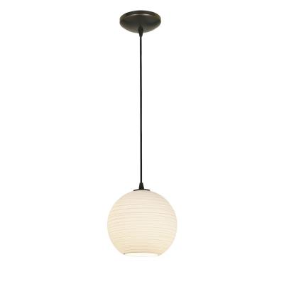 Access Lighting 28087-2C-ORB/WHTLN Lantern - One Light Pendant (Cord Hung)
