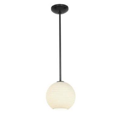 Access Lighting 28087-1C-ORB/WHTLN Lantern - One Light Pendant (Cord Hung)