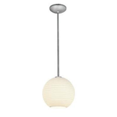 Access Lighting 28088-1R-BS/WHTLN Lantern - One Light Pendant