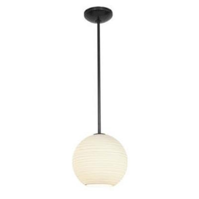 Access Lighting 28088-1R-ORB/WHTLN Lantern - One Light Pendant