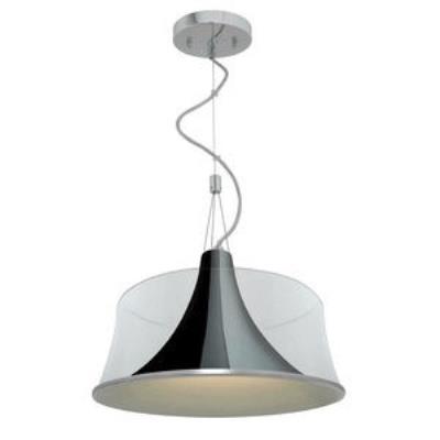 Access Lighting 50145-CH/CLR Metalico- One Light Pendant