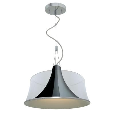Access Lighting 50145-CH/CLR Metalico- One Light Pendant
