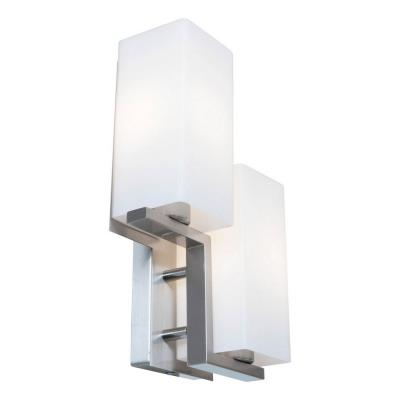 Access Lighting 50194-BS/OPL Erin - Two Light Wall/Bath Vanity