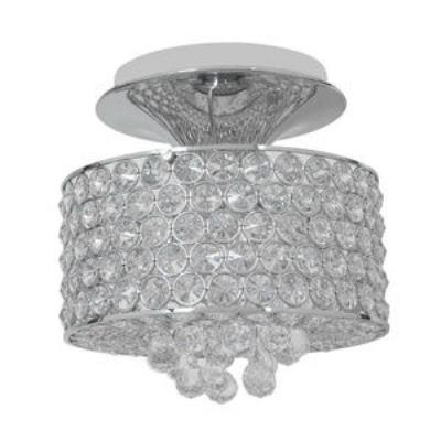 Access Lighting 51005-CH/CCL Kristal - Three Light Semi-Flush Mount