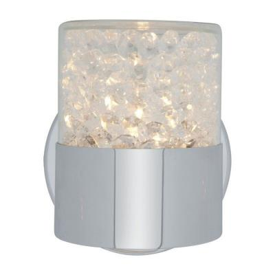 Access Lighting 51011-CH/CCL Kristal - One Light Wall/Bath Vanity