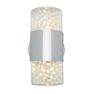 Access Lighting 51015-CH/CCL Kristal - Two Light Wall/Bath Vanity