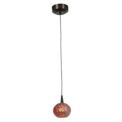 Access Lighting 72980LED-BRZ/RRO Tungsten - LED Safari Opaline Pendant
