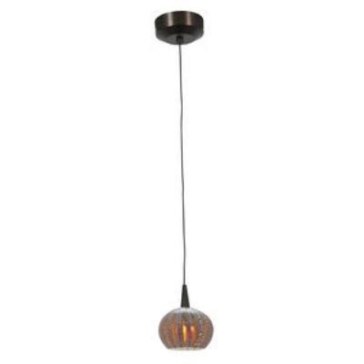 Access Lighting 72980LED-BRZ/SARO Tungsten - LED Safari Opaline Pendant