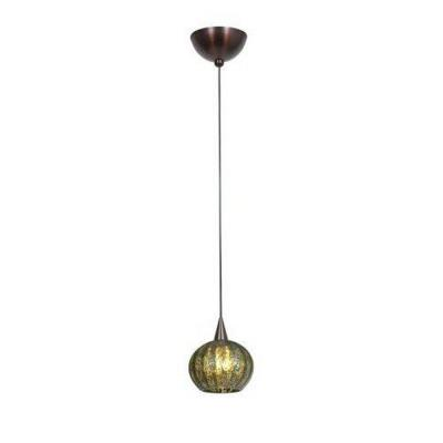 Access Lighting 90980-BRZ/GRO Alpha - One Light Pendant