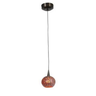 Access Lighting 94980-BRZ/RRO Zeta - One Light Pendant