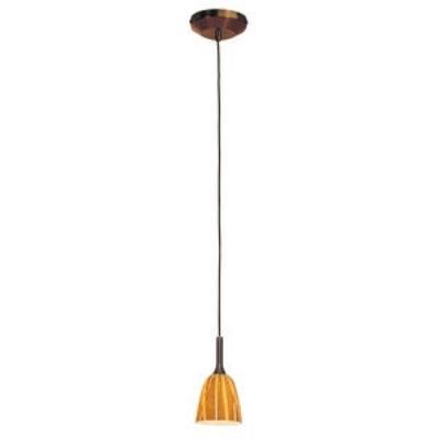 Access Lighting 97924-BRZ/AMZ Delta - One Light Pendant