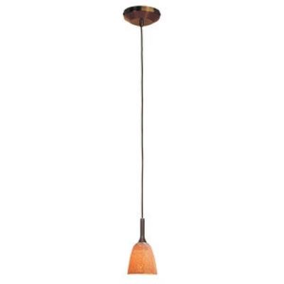 Access Lighting 97924-BRZ/SLA Delta - One Light Pendant