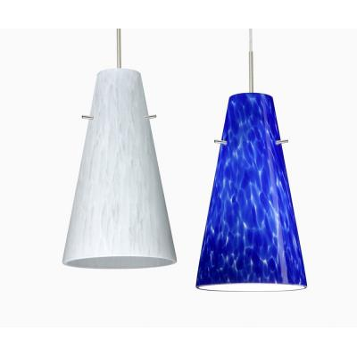 Besa Lighting Cierro Pendant-1 Cierro - One Light Cord Pendant with Flat Canopy