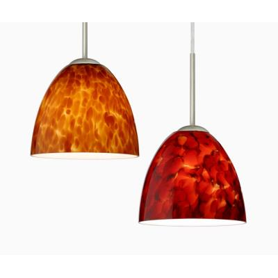 Besa Lighting Sasha II Pendant-1 Sasha II - One Light Cord Pendant with Flat Canopy