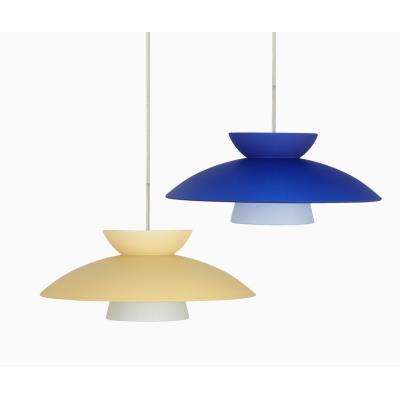 Besa Lighting Trilo 15 Pendant-1 Trilo 15 - One Light Cord Pendant with Flat Canopy