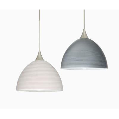 Besa Lighting Brella Pendant-1 Brella - One Light Cord Pendant with Flat Canopy